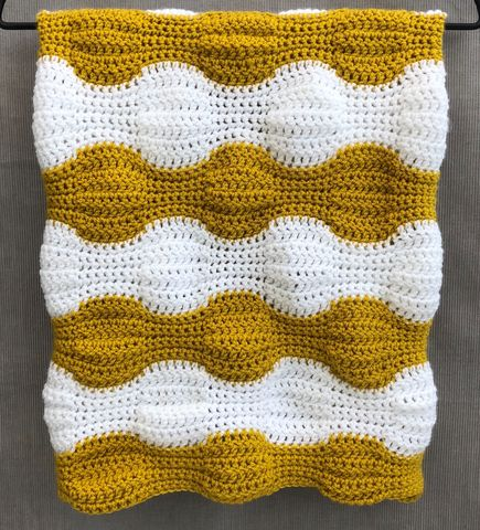 Contemporary,baby,blanket,,mustard,and,white,Baby blanket, contemporary, mustard, white, stripes, pram, stroller, cot blanket, cover, snuggle blanket, cosy, unique