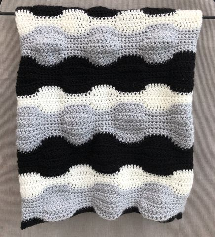 Contemporary,baby,blanket,,monochrome,and,grey,Baby blanket, contemporary, monochrome, grey, white, stripes, pram, stroller, cot blanket, cover, snuggle blanket, cosy, unique
