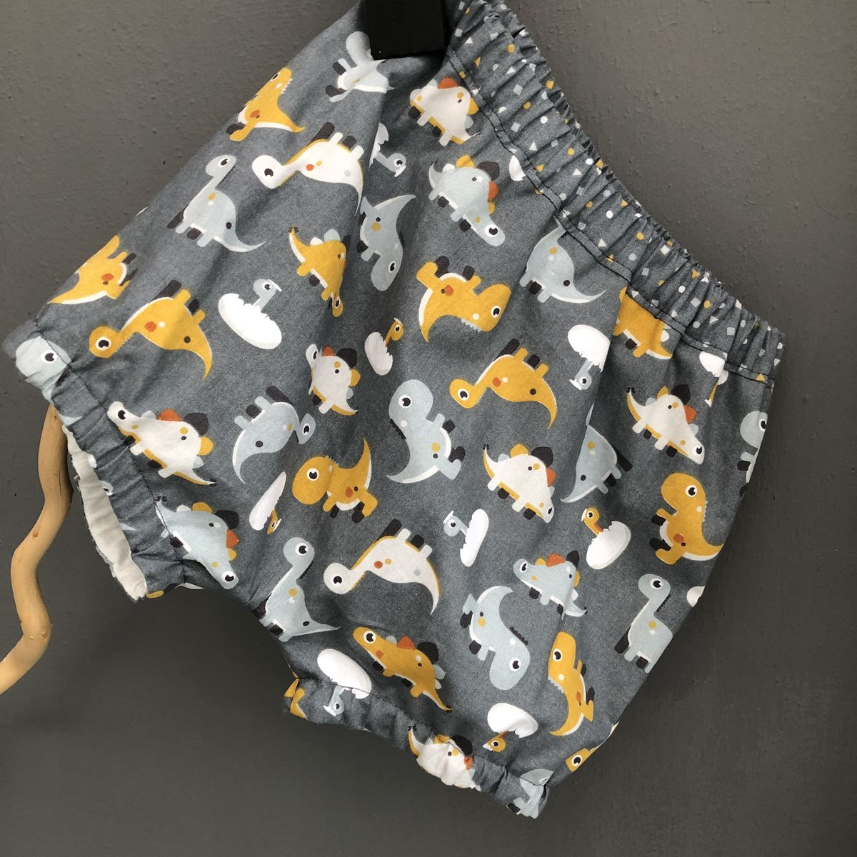 Dinosaur print bubble leg baby/toddler bloomers - product images  of