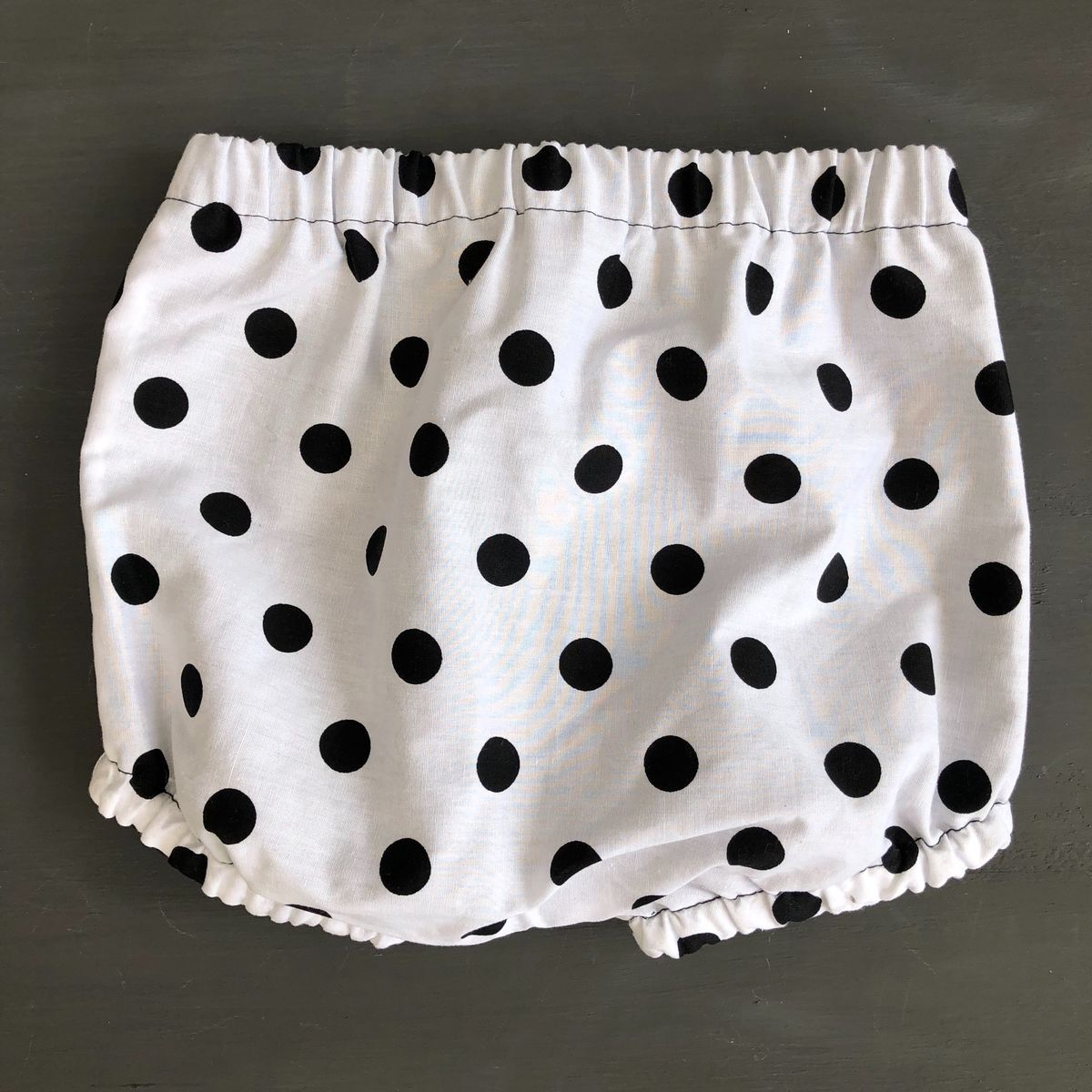 Bubble leg baby/toddler bloomers - monochrome spots - product images  of