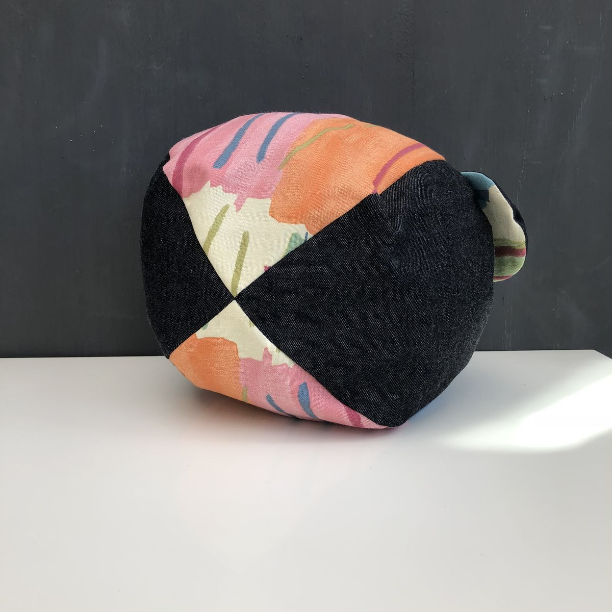 Japanese style cotton knotted fabric bag - medium - product images  of