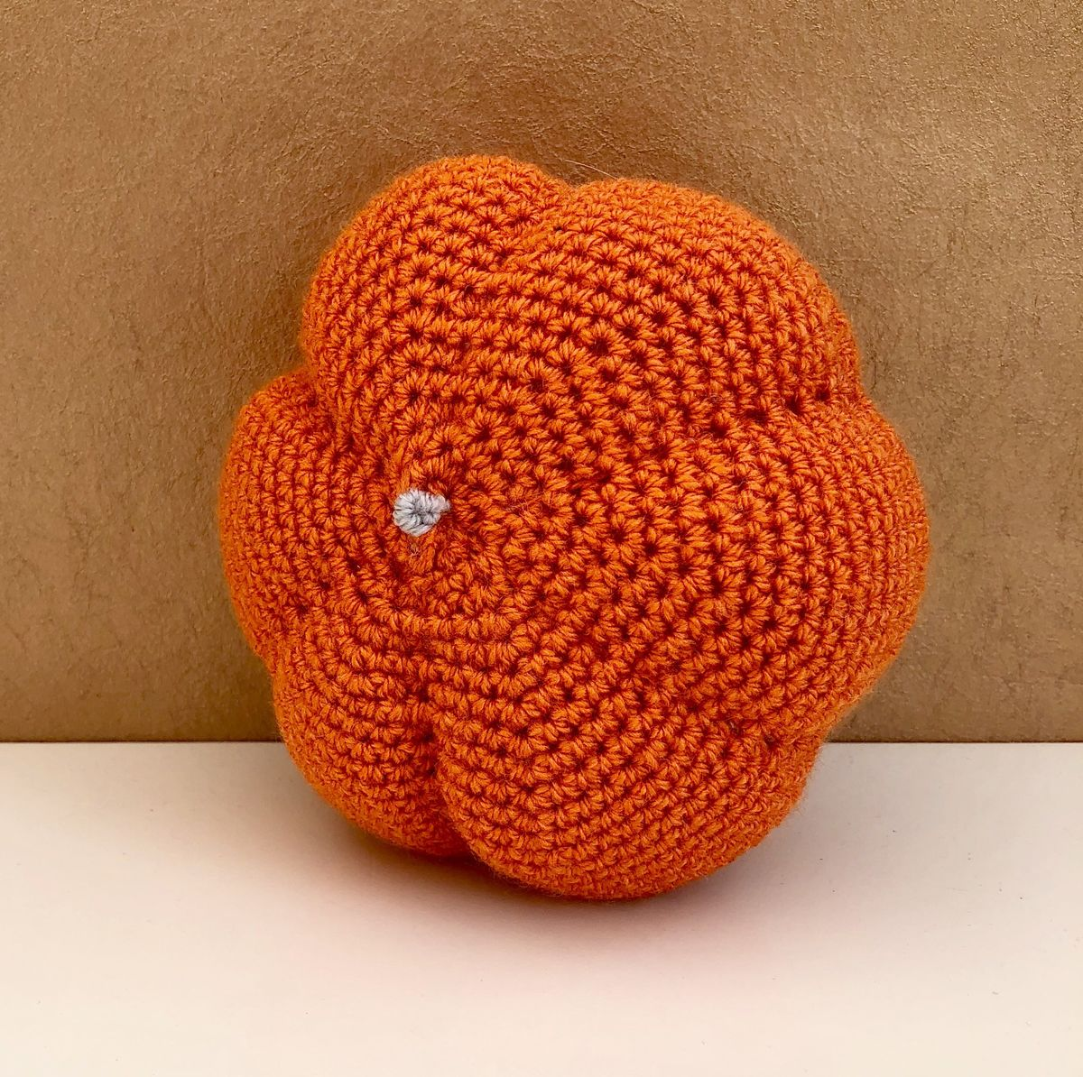 Orange pumpkin decoration  - product images  of
