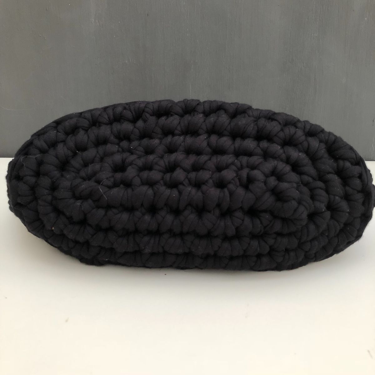 Chunky stitched monochrome storage basket - product images  of