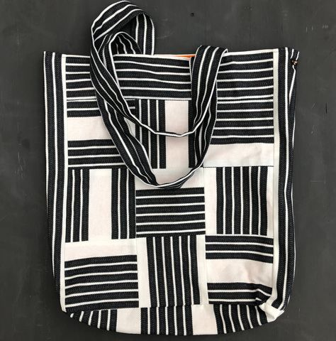 Monochrome,striped,tote,shopping,bag,Tote bag, tote, shopping bag, shopper, striped bag, Japanese inspired, eco bag, gift bag, monochrome, stripes, black and white, cotton bag, carrier bag