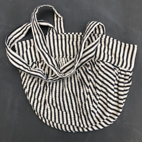 Monochrome,bucket,style,shopping,bag,Shopping bag, bucket bag, shopper, monochrome, beach bag, ticking, fabric bag, black and white stripes, eco bag, shoulder bag