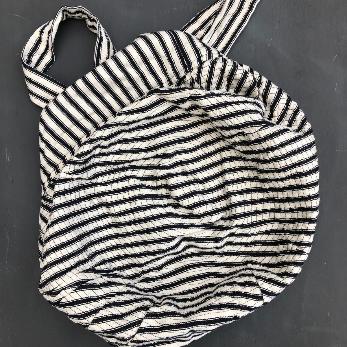 Monochrome bucket style shopping bag - product images  of