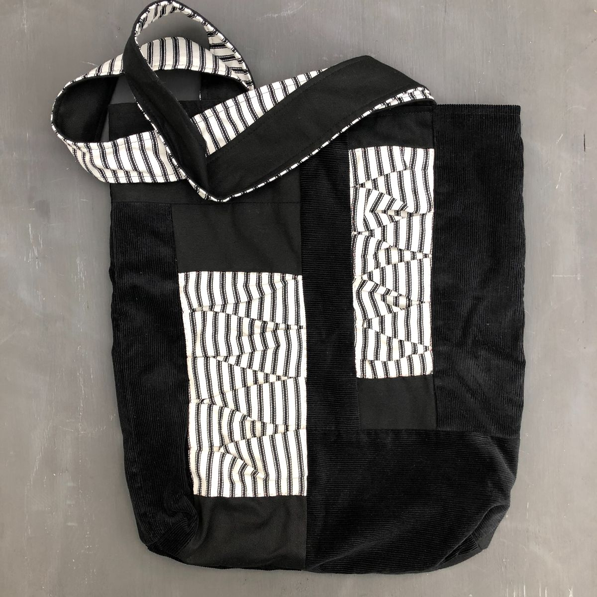 Monochrome tote bag - product images  of