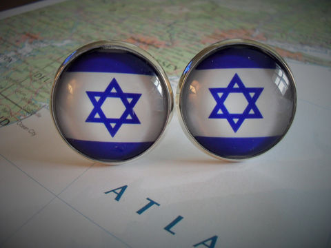 ISRAELI,FLAG,Silver,Cufflinks//,National,Flag,of,ISRAEL,//,Father's,Day,Groomsmen,Gift,Wedding,//Patriotic,Accessories,Cuff_Links,Cufflinks,Groomsmen_Gift,Patriotic,National_Flag,Israeli_Flag,Israel,Jewish,Hanukkah_Cufflinks,Map_Cufflinks,Flag_Cufflinks,Country_Cufflinks,Unique_Gift