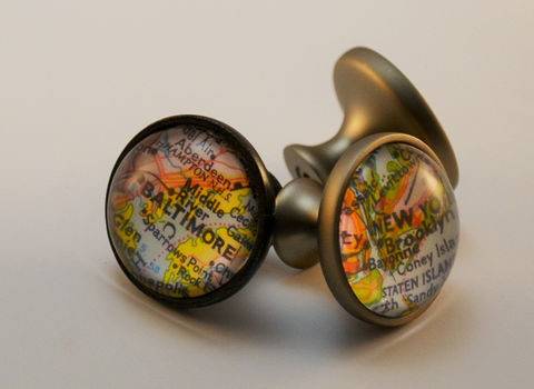 Custom,MAP,CABINET,KNOB,/,Map,Drawer,Pull,Glass,domed,nickel,or,bronze,finish,map,knob,any,Location,decor,housewarming,Furniture,map_drawer_pull,map_cabinet_knob,custom_map_decor,map_dresser_knobs,glass_domed,map_gift_idea,housewarming_gift,made_in_Canada,you_pick_the_city,personalized_gift,unique_home_decor,nickel_silver_bronze,map_knobs