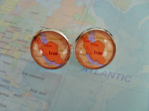 IRANIAN,MAP,Silver,Cufflinks,//,Map,of,IRAN,Father's,Day,groomsmen,gift,Birthday,Anniversary,Gift,for,him,cuff,links,Weddings,Jewelry,Canadian,Fathers_Day_Gift,Groomsmen_Gift,Custom,Gift_For_Him,Country,Iran,Iranian,Map_Cufflinks,Unique_Gift