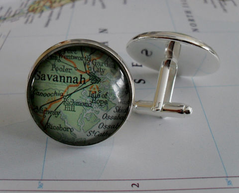 SAVANNAH,Map,CUFF,LINKS,//,Georgia,cufflinks,/,Cufflinks,Personalized,Gift,Groomsmen,Anniversary,gift,for,him,Boxed,Accessories,Cuff_Links,Hand_Made,Vintage_Map,Groomsmen_Gift,Wedding,Savannah_Cufflinks,Map_Cufflinks,Georgia_Cufflinks,Custom_Map_Cufflinks,Map_Cufflink,Unique_Gift,cuff_links