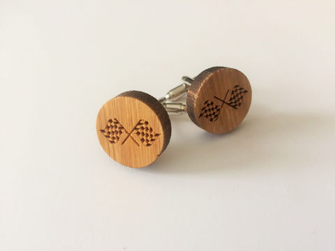 REAL,WOOD,CUFFLINKS,/,Racing,Flag,Cuff,Links,Gift,for,Race,Fan,Rustic,Wood,Choice,of,Stain,Color,5th,anniversary,/Gift,Boxed,Accessories,Cuff_Links,Canadian,Hand_Made,Wood_Cufflinks,wooden_cufflinks,mens_cufflinks,bamboo_cufflinks,stained_wood,outdoorsman_gift,rustic_cufflinks,5th_anniversary,car_enthusiast_gift,racing_flag_cufflink,racing_fan_gift