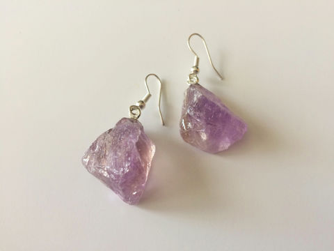 AMETHYST,Earrings,/,Raw,Amethyst,Nugget,Stone,Jewelry,Purple,February,Birthstone,/Gift,Boxed,gift_for_her,gemstone_earrings,semi_precious,made_in_Canada,stone_earrings,raw_stone_earrings,uncut_stone_earrings,amethyst_earrings,raw_amethyst,February_birthstone,purple_stone,amethyst_nugget,purple_earrings