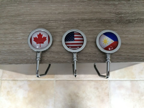 National,FLAG,PURSE,HOLDER,/,High,Quality,Stainless,Steel,Personalized,Gift,for,Her,Any,Country,Flag,Patriotic,boxed,Accessories,personalized_gift,made_in_Canada,stainless_steel,Bjeweled_Vintage,canteam,cool_gift_for_her,mother's_day_gift,purse_holder,patriotic_gift,national_flag,country_flag,unique_purse_holder,flag_gift_for_her