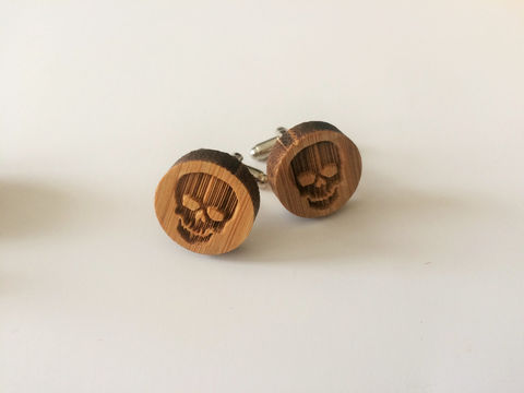 REAL,WOOD,CUFFLINKS,/,Skull,Cuff,Links,Skeleton,Cufflinks,Halloween,cufflinks,Choice,of,Stain,Color,5th,anniversary,/Gift,Boxed,Accessories,Cuff_Links,Hand_Made,Wood_Cufflinks,wooden_cufflinks,mens_cufflinks,bamboo_cufflinks,stained_wood,outdoorsman_gift,5th_anniversary,Halloween_cufflinks,skull_cuff_links,skeleton_cufflinks,embossed_cufflinks,rustic_wood
