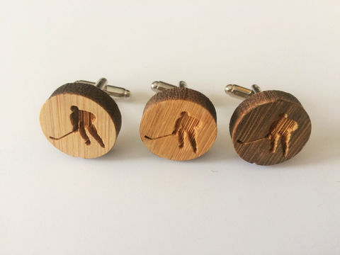 REAL,WOOD,CUFFLINKS,/,Hockey,Player,cuff,links,Cufflinks,Choice,of,Stain,Color,5th,anniversary,/Gift,Boxed,Accessories,Cuff_Links,Canadian,Hand_Made,Wood_Cufflinks,wooden_cufflinks,mens_cufflinks,bamboo_cufflinks,stained_wood,outdoorsman_gift,rustic_cufflinks,5th_anniversary,hockey_cufflinks,hockey_player_gift,hockey_cuff_links