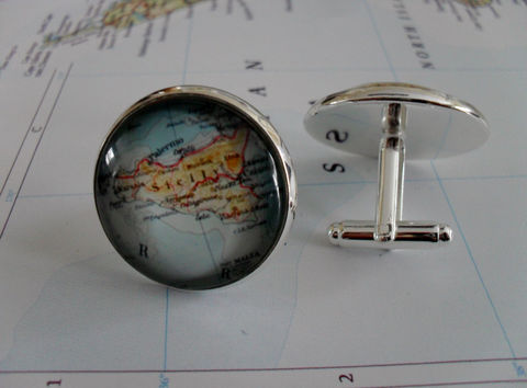 SICILY,MAP,Silver,CUFFLINKS,/,Sicily,Cuff,Links,groomsmen,gift,Personalized,Gift,for,Him,Custom,map,jewelry,Boxed,Weddings,Jewelry,Canadian,Hand_Made,Cufflinks,Vintage_Map,Fathers_Day_Gift,Groomsmen_Gift,Wedding,Map_Cufflinks,Unique_Gift,Sicily_map_cufflinks,Sicilian_map,custom_map_jewelry