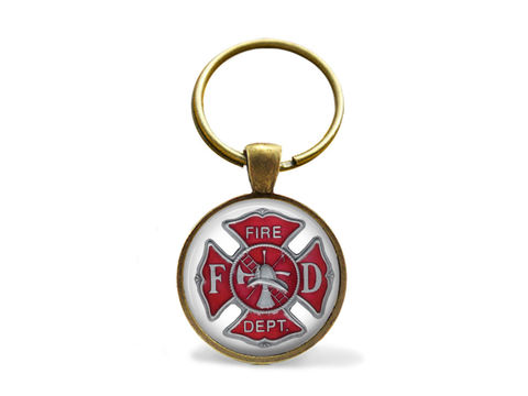 FIREFIGHTER,EMBLEM,KEYCHAIN,/,Firefighter,Gift,Maltese,Cross,Key,Chain,Fire,fighter,Symbol,Department,logo,Boxed,Accessories,Keychain,Unique_Gift,gift_boxed,canteam,made_in_Canada,firefighter_emblem,maltese_cross,gift_for_firefighter,fire_department_logo,firefighter_symbol,firefighter_keychain,fire_fighter_keyring,firefighter_jewelry,key_chain