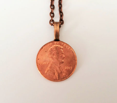 AMERICAN,PENNY,Necklace,/,Copper,Pendant,7th,anniversary,gift,for,him,Bridesmaid,Gift,PersonalizedGift,Any,year,boxed,Weddings,Jewelry,Pennies,7th_Anniversary_Gift,Penny_Cufflinks,American_Penny,penny_necklace,bridesmaid_gift,lucky_penny,copper_gift_for_her,custom_coin_necklace,US_penny_jewelry,coin_necklace,copper_necklace