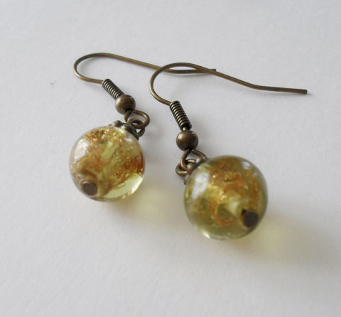 Gorgeous,Gold,Swirled,VENETIAN,GLASS,Beaded,EARRINGS,/,Stunning,//Antiqued,Bronze,Unique,Gift,for,Her,boxed,Jewelry,Earrings,Canadian,One_Of_A_Kind,Hand_Made,Mothers_Day,Nickel_Free,Venetian_Glass,Gold_Swirled,Vintage,Antique_Bronze,Unique_Gift,Canteam