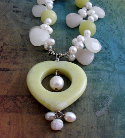 New,Jade,,Quartz,&,Freshwater,Pearl,BEADED,GEMSTONE,NECKLACE,/,Summery,Unique,Gift,for,Her,Pastel,Beaded,Stone,Necklace,Boxed,Jewelry,Canadian,Designer,One_Of_A_Kind,Hand_Made,Silver,Serpentine,New_Jade,Briolettes,Lime,Unique_Gift,Canteam,beaded_necklace,pastel_necklace