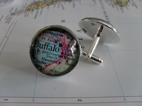 BUFFALO,MAP,CUFFLINKS,//,Silver,Father's,Day,Groomsmen,Gift,Cufflinks,for,Him,Buffalo,Map,Cuff,Links,Accessories,Cuff_Links,Bjeweled_Vintage,Vintage_Map,Fathers_Day_Gift,Groomsmen_Gift,New_York,Buffalo_Cufflinks,Map_Cufflinks,Map_Cuff_Links,Unique_Gift
