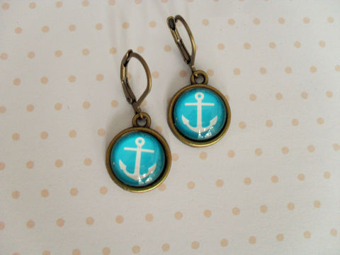 ANCHOR,EARRINGS,/,Anchors,Away,Antique,Brass,Glass,Earrings,Gift,for,Her,Nautical,turquoise,under,10,dollars,boxed,Jewelry,Canadian,Hand_Made,Gift_For_Her,Anchors_Away,Anchor,Turquoise,Teen_Girl_Gift,Cute_Earrings,Unique_Gift,Canteam,gift_boxed,anchor_earrings,under_ten_dollars