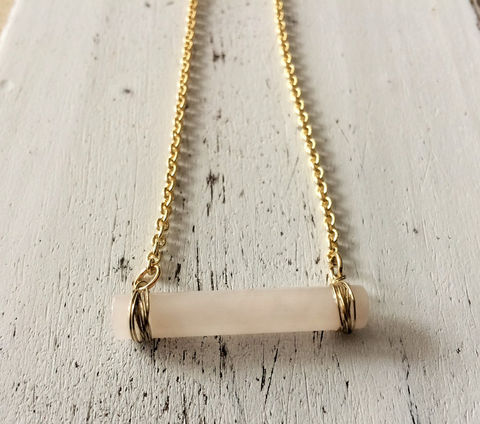 ROSE,QUARTZ,NECKLACE,/,Gold,Wire,Wrapped,Pendant,cylindrical,pink,quartz,Raw,Stone,under,20,dollars,Gift,boxed,Jewelry,Necklace,Canadian,Hand_Made,Genuine_Stone,Gift_For_Her,Unique_Gift,raw_stone_pendant,rose_quartz_necklace,pink_quartz_pendant,wire_wrapped_pendant,cylindrical_stone,rose_quartz_pendant,stone_necklace,gold_necklace