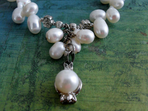 WHITE,Freshwater,PEARL,Beaded,Pendant,NECKLACE,/,Stunning,Bridal,Bride,Jewelry,Wedding,Necklace,One,of,a,kind,Gift,boxed,pearls,Weddings,Canadian,One_Of_A_Kind,Hand_Made,Gold_Filled,Freshwater_Pearls,White_Pearl,Bride_Jewellery,Bridal_Jewelry,Unique_Gift,Canteam,pearl_necklace,wedding_necklace
