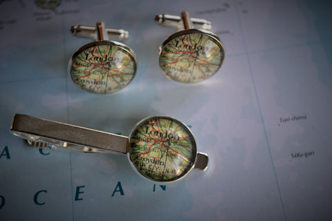Custom,Map,Cufflink,and,Tie,Clip,Set,/,Personalized,Gift,for,Him,You,Pick,the,Location,2,Sizes,Cuff,Links,jewelry,box,Accessories,Hand_Made,Cufflinks,Map_Cufflinks,Custom_Map_Cufflinks,cufflink_tie_bar_set,custom_map_jewelry,map_tie_bar,personalized_gift,gift_for_him,silver_cufflink,wedding_cufflinks,vintage_map