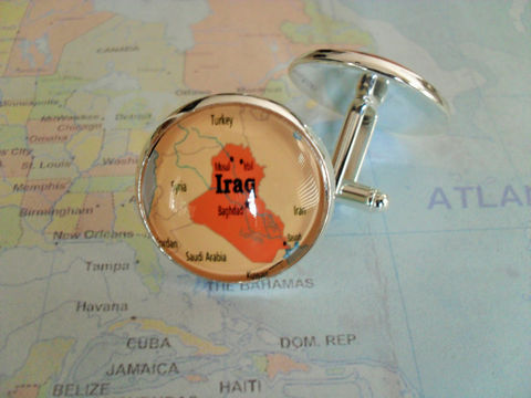 IRAQ,MAP,Silver,Cufflinks,/,Iraq,Cuff,Links,Map,jewelry,/Father's,Day,groomsmen,gift,Personalized,Gift,for,him,Boxed,Weddings,Jewelry,Canadian,Fathers_Day_Gift,Groomsmen_Gift,Custom,Gift_For_Him,Country,Baghdad,Map_Cufflinks,Unique_Gift,Iraq_map_cufflinks,map_cuff_links