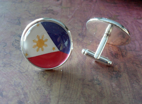 FILIPINO,FLAG,Cufflinks,/,National,Flag,of,PHILIPPINES,Groomsmen,Gift,Wedding,cuff,links,Patriotic,Country,silver,Accessories,Cuff_Links,Groomsmen_Gift,National_Flag,Philippines,Flag_Cufflinks,Filipino_Flag,Country_Cufflinks,Custom_Flag_Cufflink,Flag_Jewelry,Philippines_Cufflink,Filipino_Cufflinks