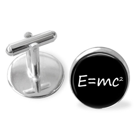 E=mc2,CUFFLINKS,/,Theory,of,Relativity,Cuff,Links,Gift,For,Scientist,Physics,teacher,gift,Geek,2,colours,boxed,Accessories,Cuff_Links,Cufflinks,Gifts_For_Him,Canteam,geek_gift,mathematics_cufflink,science_cufflinks,e_mc2,theory_of_relativity,physics_cuff_links,albert_einstein,nerd_gift,gift_boxed,gift_for_teacher