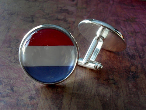 LUXEMBOURG,FLAG,Silver,Cufflinks//,National,Flag,of,//,Father's,Day,Groomsmen,Gift,Wedding,//Patriotic,cuff,links,Weddings,Jewelry,Cufflinks,Groomsmen_Gift,Patriotic,National_Flag,World_Cup,Soccer,Football,Fan_Wear,Country,Luxembourg,Flag_Cufflinks,Unique_Gift