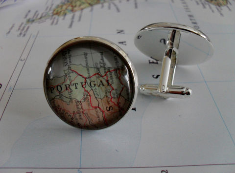 PORTUGAL,Map,CUFFLINKS,/,Portugal,Cuff,Links,Custom,Cufflinks,Father's,Day,Groomsmen,Gift,Unique,for,Him,Boxed,Weddings,Jewelry,Hand_Made,Vintage_Map,Groomsmen_Gift,Gifts_For_Him,Wedding,Custom_Map_Cufflinks,Portugal_Cufflinks,Portugal_Map,Portuguese_Gift,Unique_Gift,Map_Cufflinks