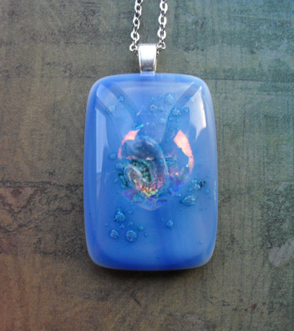 Mystical,Blue,and,Iridescent,FUSED,glass,/,DICHROIC,pendant,necklace,Hand,Crafted,One,of,a,kind,Glass,Pendant,Gift,Boxed,Jewelry,Necklace,One_Of_A_Kind,Hand_Made,Hand_Crafted,Fused_Glass,Dichroic_Glass,Gift_For_Her,Gift_Boxed,Bubbles,Stunning,Unique_Gift,blue_glass_pendant