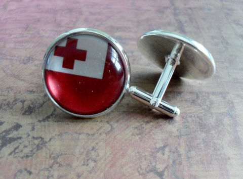 TONGAN,FLAG,Silver,Cufflinks,//,National,Flag,of,TONGA,Father's,Day,Groomsmen,Gift,Wedding,Patriotic,Cuff,Links,Boxed,Accessories,Cuff_Links,Groomsmen_Gift,National_Flag,Country,Rugby,Tongan_Flag,Tonga,Flag_Cufflinks,Map_Cufflinks,Country_Cufflinks,Unique_Gift,cuff_links