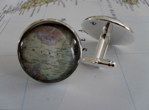 CHINA,MAP,Silver,CUFFLINKS,/,China,Map,Cuff,Links,Father's,Day,Groomsmen,Gift,Personalized,for,Him,Custom,map,jewelry,Weddings,Jewelry,Canadian,Hand_Made,Vintage_Map,Fathers_Day_Gift,Groomsmen_Gift,Glass_Domed,Gifts_For_Him,Burma,Unique_Gift,China_map_cufflinks,map_cuff_links,map_jewelry