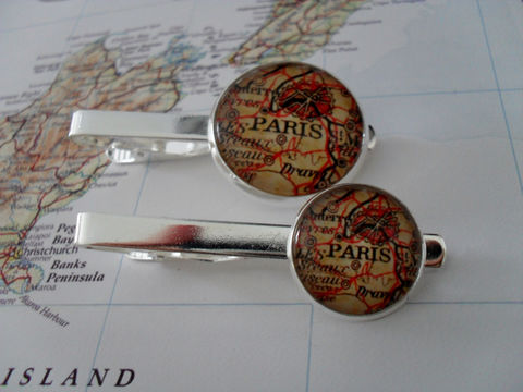 Vintage,PARIS,FRANCE,MAP,Silver,Tie,Bar,/,Groomsmen,Gift,for,Him,Map,Jewelry,2,Sizes,Clip,Clasp,Slide,Weddings,Hand_Made,Vintage_Map,Fathers_Day_Gift,Groomsmen_Gift,Glass_Domed,Tie_Bar,Tie_Slide,Tie_Clasp,Tie_Clip,France,Paris_map_Tie_Bar,vintage_map_jewelry