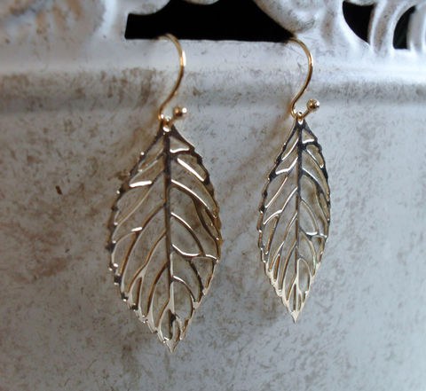 DELICATE,Gold,FILIGREE,LEAF,Earrings,//,Gift,For,Her,Organic,Light,Weight,Leaf,jewelry,Fall,boxed,Jewelry,Nickel_Free,Simple,Hypoallergenic,Delicate,Filigree,Light_Weight,Leaf_Earrings,Gold_Leaf_Earrings,Delicate_Earrings,Fall_Jewelry