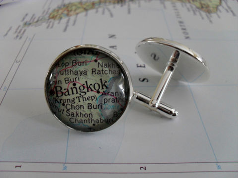 BANGKOK,Thailand,Map,Silver,CUFF,LINKS,/,Bangkok,Cufflinks,Groomsmen,Gift,Personalized,for,Him,Custom,map,jewelry,Boxed,Weddings,Jewelry,Canadian,Fathers_Day_Gift,Groomsmen_Gift,Glass_Domed,Gifts_For_Him,Wedding,Bangkok_cuff_links,Bangkok_map,Thailand_cufflinks,custom_map_cufflinks,map_jewelry,cool_cufflinks