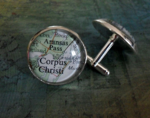 CORPUS,CHRISTI,Texas,Map,Silver,Cufflinks,/,map,cuff,links,personalized,groomsmen,gift,Jewelry,Custom,cufflinks,Gift,for,him,Weddings,Canadian,Hand_Made,Fathers_Day_Gift,Groomsmen_Gift,Gift_For_Him,Unique_Gift,Texas_cuff_links,Corpus_Christi_map,custom_map_cufflinks,map_cuff_links,map_jewelry