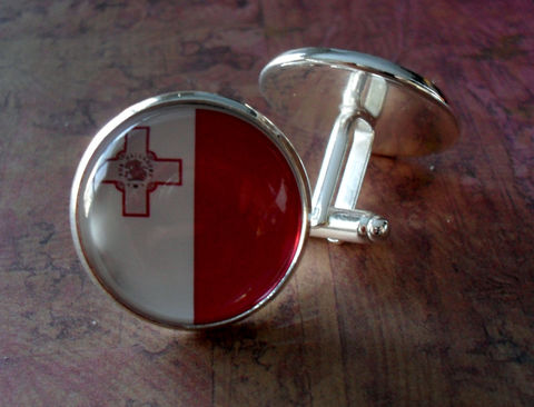 MALTESE,FLAG,Silver,Cuff,links,/,National,Flag,of,MALTA,Father's,Day,Groomsmen,Gift,Wedding,Patriotic,boxed,Weddings,Jewelry,Cufflinks,Groomsmen_Gift,National_Flag,Football,Fan_Wear,Maltese_Flag,Malta,Country,Flag_Cufflinks,Country_Cufflinks,Unique_Gift