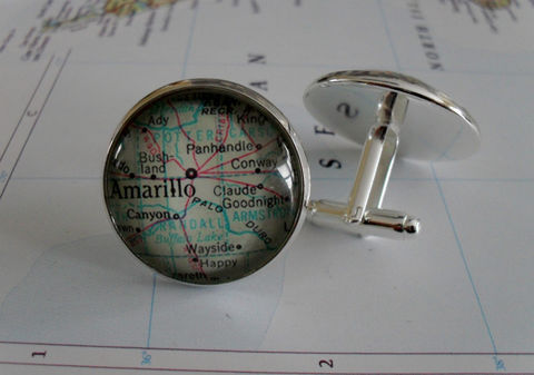 AMARILLO,TEXAS,Map,CUFFLINKS,/,Father's,Day,gift,Groomsmen,Gift,for,Him,Amarillo,Cuff,Links,Silver,jewelry,boxed,Accessories,Cuff_Links,Bjeweled_Vintage,Hand_Made,Vintage_Map,Fathers_Day_Gift,Groomsmen_Gift,Glass_Domed,Canteam,map_cuff_links,Amarillo_cufflinks,Texas_map_cuff_links,Amarillo_map,silver_map_cufflinks,unique_gift_for_him