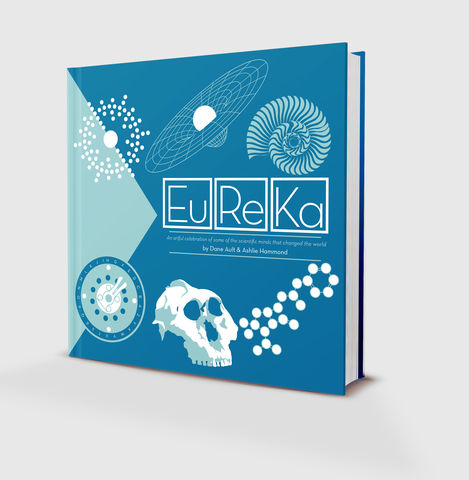 Eureka,-,The,Art,of,Science,Artbook,science,art,Book,scientist,graphic,vector,Design