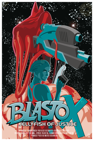 Blasto,X,Mass,Effect,Movie,Poster,-,12x18,POPaganada,Print,geek,Nerd,POPaganda,movie,mass effect,blasto,gamer