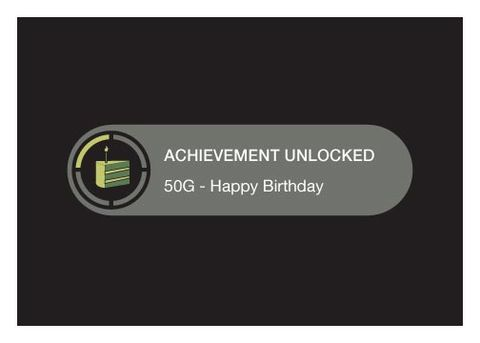 Achievement,Unlocked,Birthday,Geeky,Greeting,Nerd,Xbox,gamer,achievement,unlocked,geeky greeting