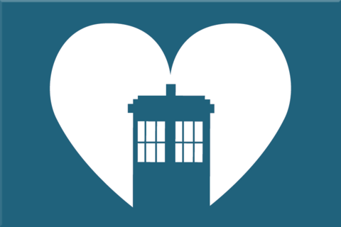 Love,the,Doctor,2x3,Magnet,Heart,geek,Nerd,doctor who,tardis