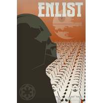 Enlist in the Empire Print - product images  of