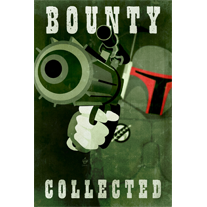 Bounty Collected 12x18 print - product images  of